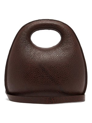 LEMAIRE egg leather bag