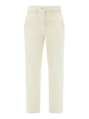 LEMAIRE high-rise cropped jeans