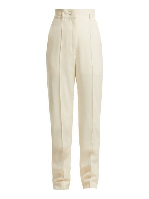 LEMAIRE high waist tailored wool trousers