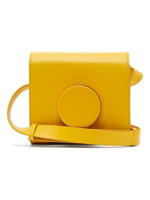 LEMAIRE leather cross body camera bag