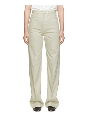 LEMAIRE off-white denim jeans