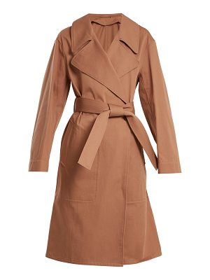 LEMAIRE Oversized cotton-twill trench coat