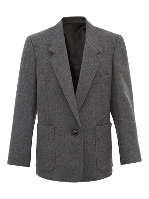 LEMAIRE patch pocket wool blend blazer