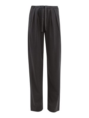 LEMAIRE pleated jersey trousers