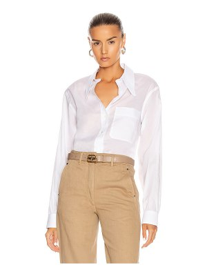 LEMAIRE pointed collar top