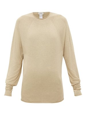 LEMAIRE rolled-edge jersey sweater