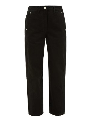 LEMAIRE twisted cropped straight-leg jeans