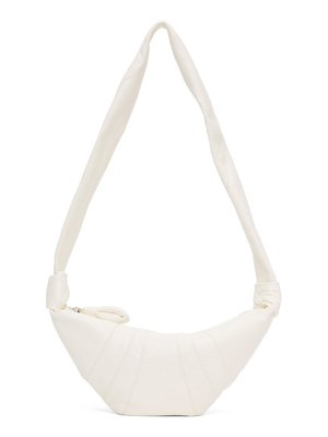 LEMAIRE white small croissant bag
