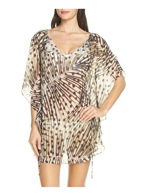 Lenny Niemeyer print cover-up caftan