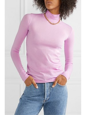 Les Rêveries stretch-jersey turtleneck top