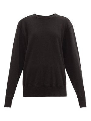 Les Tien brushed-back cotton sweatshirt