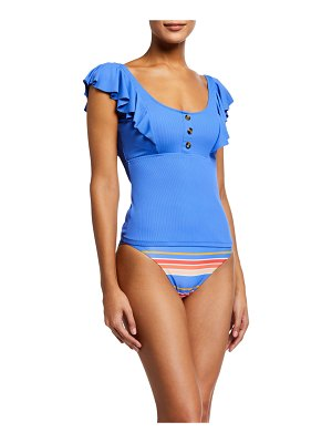 Letarte Flamenco Swim Top