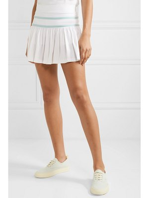 L'Etoile Sport pleated stretch-jersey tennis skirt