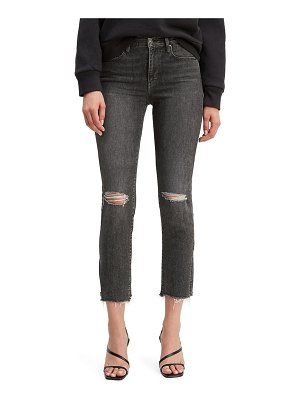 Levi's 724(tm) ripped high waist crop jeans