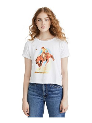 Levi's graphic ringer surf tee