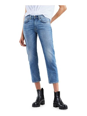 Levi's Made & Crafted Slim Cropped Straight-Leg Jeans