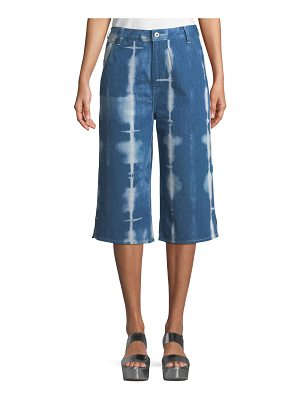 Levi's Made & Crafted Tie-Dye Denim Summer Culotte