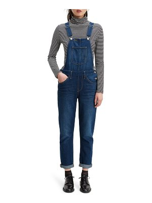Levi's original denim overalls