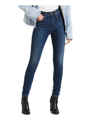 Levi's Premium Mile High Supper Skinny Ankle Jeans