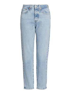 Levi's wedgie icon high-rise tapered jeans