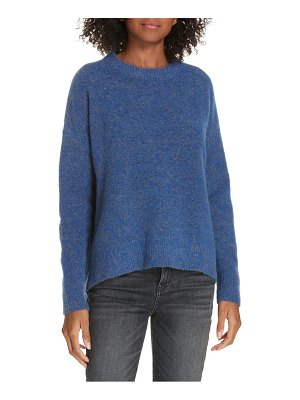LEWIT sparkle high-low sweater