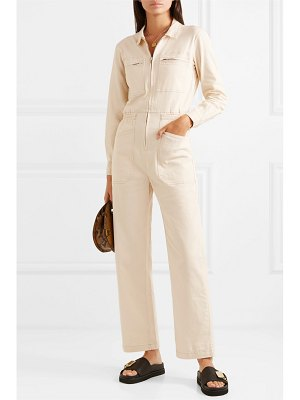 L.F.Markey danny cotton-blend drill jumpsuit