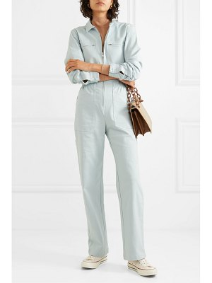 L.F.Markey danny stretch-cotton twill jumpsuit