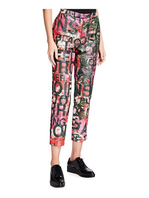 Libertine A Dream For Winter Abstract Motif Pants