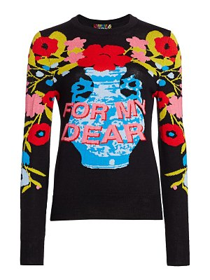 Libertine for my dear cashmere blend crewneck sweater