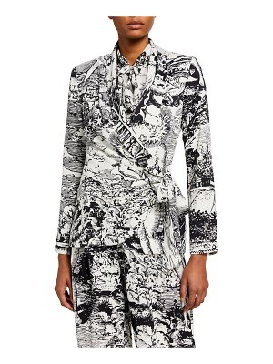 Libertine Modern Toile Wrap Jacket