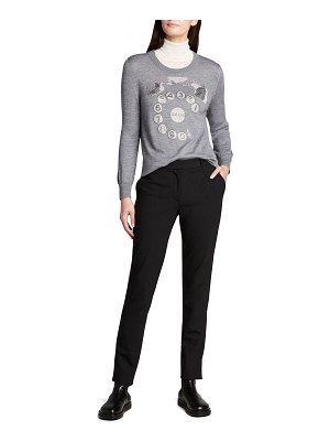 Libertine Ringy Dingy Crystal Cashmere Sweater