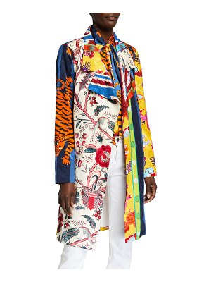 Libertine Schumacher Mixtape Trench Coat