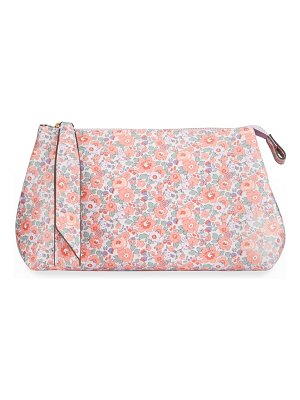 Liberty London Small Betsy Floral-Print Zip Clutch Bag