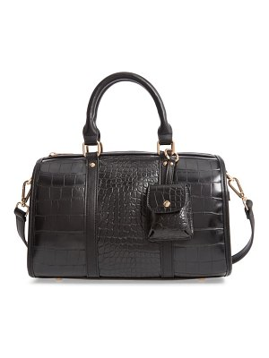 LIKE DREAMS cleo faux leather satchel