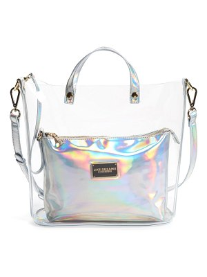 LIKE DREAMS transparent satchel