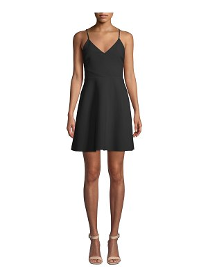 LIKELY Austin Sleeveless V-Neck Short Dress