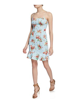 LIKELY Banks Floral-Print Flounce Dress