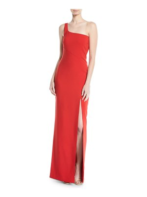 LIKELY Camden One-Shoulder Gown w/ Slit
