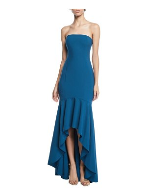 LIKELY Carlo Strapless Fit-&-Flare Gown
