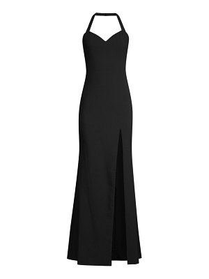 LIKELY claire halter gown