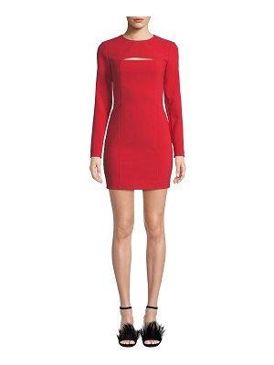 LIKELY Keller Long-Sleeve Mini Dress