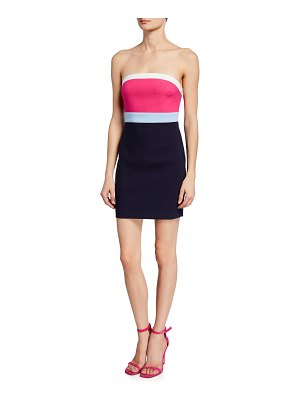 LIKELY Marena Strapless Colorblock Dress