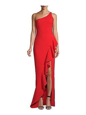 LIKELY marielle one-shoulder column gown