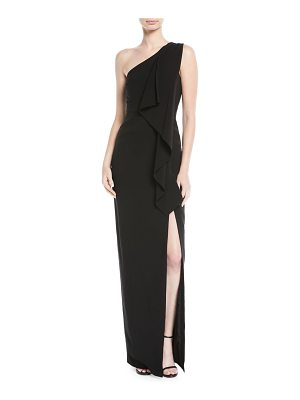 LIKELY Sienna Draped One-Shoulder Gown