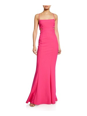 LIKELY Tamarelli Sleeveless Cutout Gown
