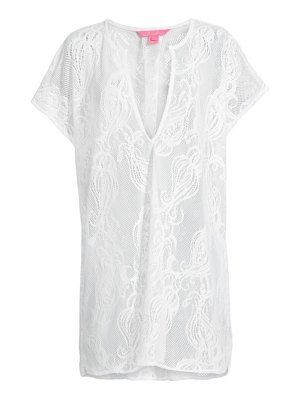 Lilly Pulitzer aideen lace cover-up