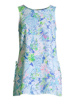 Lilly Pulitzer donna floral tank top