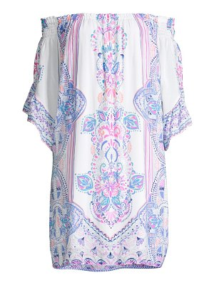 Lilly Pulitzer fawna off-the-shoulder dress