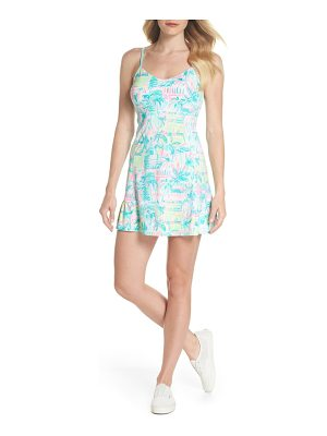 Lilly Pulitzer lilly pulitzer adelia upf 50+ tennis dress