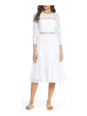 Lilly Pulitzer lilly pulitzer aiden fit & flare lace dress